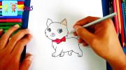 آموزش نقاشی به کودکان | کشیدن گربه ملوس