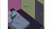 طنز اسکویید گیم برای وضعیت واتساپ