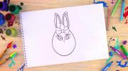 آموزش نقاشی و رنگ آمیزی شخصیت های کارتونی سانی بانیز ها