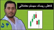 ویدیو آموزش بورس فارکس قسمت ۵۴ : کاهش ریسک سیستم معاملاتی