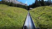 تجربه سورتمه سواری در طبیعت سوئیس