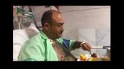 فیلم آخرین وضعیت مهران غفوریان بعد از سکته قلبی از زبان خودش