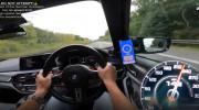 تست سرعت و شتاب از BMW M۵