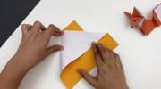 آموزش ساخت اوریگامی روباه