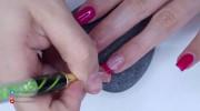 طراحی ناخن ساده و شیک دخترانه جدید
