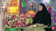 مصاحبه با ناهید کیانی بعد از المپیک در حرم امام رضا (ع)