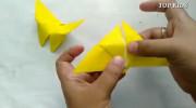 آموزش ساخت اوریگامی پروانه