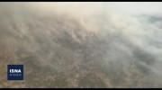 فیلم آتش سوزی جنگلهای نیر در کهگیلویه و بویراحمد