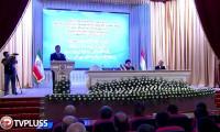 اعطای دکترای افتخاری دانشگاه ملی تاجیکستان به ابراهیم رئیسی
