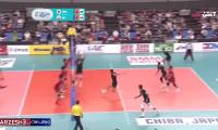 خلاصه والیبال ژاپن ۰ - ۳ ایران فینال قهرمانی آسیا
