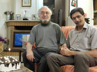 پست سوزناک پسر پرویز پورحسینی برای پدرش