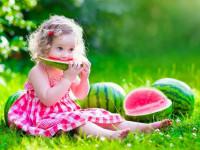 خواص هندوانه برای کودکان : دستورالعمل مصرف هندوانه در کودکان