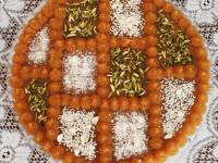 30 ایده جذاب و دیدنی برای تزیین حلوا با پودر نارگیل