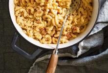 ۶ مدل غذا و سالاد ساده اما خوشمزه با ماکارانی + عکس