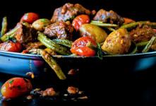 ۱۰ خوراک ساده ولی خوشمزه با لوبیا سبز