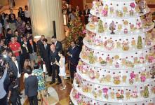 تصاویری از زیباترین درختان کریسمس سال ۲۰۱۴