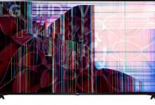 علت خط افتادن روی صفحه تلویزیون LED ال جی