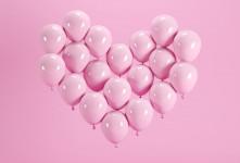 تصاویر زیبا از سورپرایز عاشقانه تم بادکنکی !