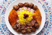 طرز تهیه قنبر پلو شیرازی اصل و سنتی