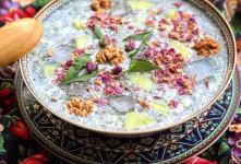 طرز تهیه آب دوغ خیار سنتی و مزه دار مخصوص ظهر های گرم تابستان