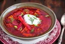 طرز تهیه سوپ لبو (چغندر) پیش غذایی ساده و لذیذ