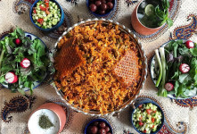 طرز پخت استانبولی پلو نذری برای ادای نذر در ماه محرم
