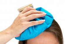 با استفاده از یخ سردرد میگرنی را به آسانی درمان کنید