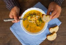 رژیم سوپ : با این رژیم نه گرسنگی را تحمل کنید نه اضافه وزن