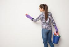روش های تمیز کردن لکه رنگ از روی دیوار گچی