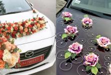 مدلهای دیده نشدنی از تزیین ماشین عروس مناسب امسال + عکس