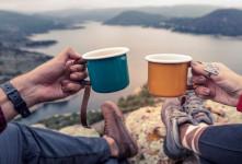 ۴۰ عکس لاکچری صبحانه در طبیعت، عاشقانه و دونفری
