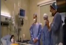 فیلم صحبت های سید بشیر حسینی با علی لندی در بیمارستان