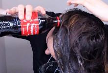 نحوه درمان شپش سر با نوشابه