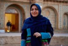 کیک تولد ۴۰ سالگی المیرا شریفی مقدم