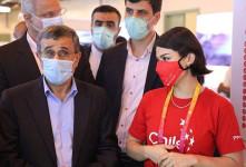 تصاویر حاشیه ساز از احمدی نژاد در دوبی