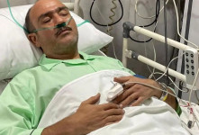 اولین فیلم و صحبت های مهران غفوریان در بیمارستان قبل از عمل