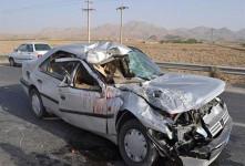 ۱۸ کشته و زخمی در پی واژگونی خودرو ۴۰۵ در جهرم