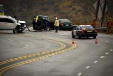 فیلم| تصادف زنجیره ای کرج قزوین: برخورد ۳۰ خودرو!