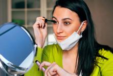 با وجود ماسک چگونه آرایش کنیم ؟