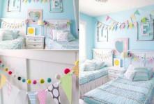۱۰ ایده خلاقانه تزیین اتاق با کاغذ رنگی