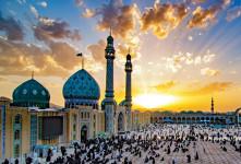 ۵۵ عکس باکیفیت مسجد جمکران برای پروفایل و اینستاگرام