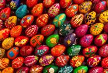جدیدترین روش های تزیین تخم مرغ سفره هفت سین آسان در منزل