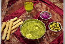 طرز تهیه اشکنه گردو غذای سالم و مقوی اراک