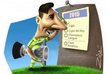 کاریکاتور روز:موفقیت های مسی یکی بعد از دیگری!