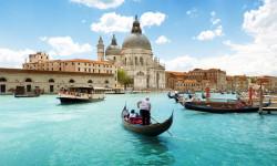 ونیز ایتالیا و خشکسالی در گرند کانال ونیز+تصاویر