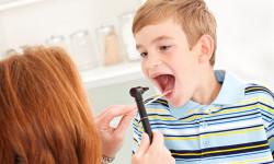 علائم و نشانه های بزرگ شدن لوزه در کودکان