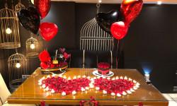 چیدمان خانه برای تولد عاشقانه و رمانتیک + عکس