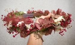20 مدل جدید و زیبا از تاج های گلدار مخصوص نامزدی با گل های طبیعی و مصنوعی
