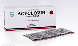 موارد مصرف قرص آسیکلوویر (Aciclovir) و عوارض جانبی این دارو