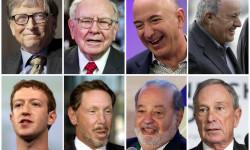 معرفی 10 مرد ثروتمند دنیا در سال 2018